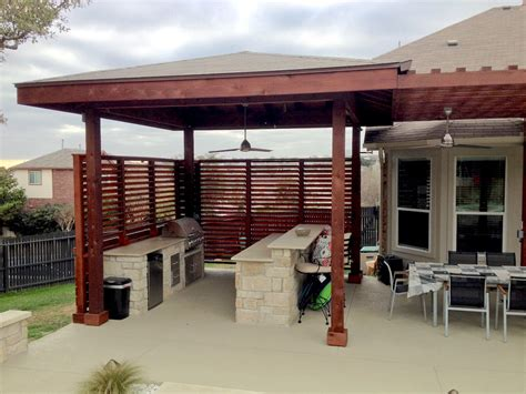 Backyard Bbq Enclosure Fences Flex Fence Louver System