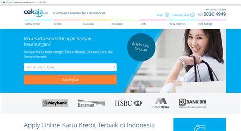 pembuatan kartu kredit termudah beda proses pembuatan kartu kredit secara online dan
