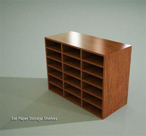 revitcity object paper storage shelves 3x6 casework