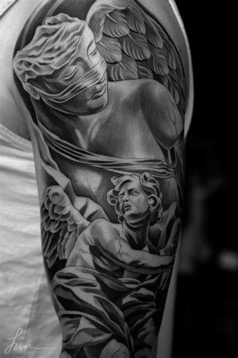 statue tattoo designs sick statue how terrible it is to