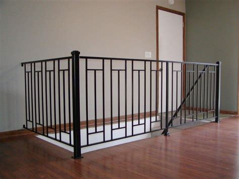 Metal Banister Rails 1000 Ideas About Indoor Stair Railing On Pinterest