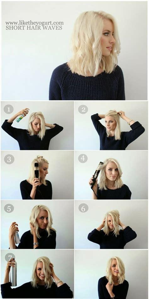 hair tutorials for medium hair 23 chic medium hairstyles for wavy hair styles weekly