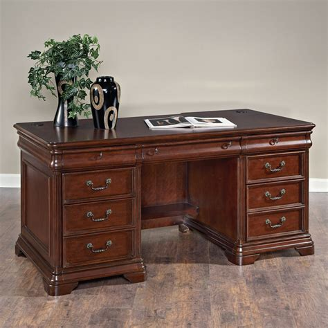 Executive Office Desks For Home Hammary Home Office Executive Desk Beyond Stores