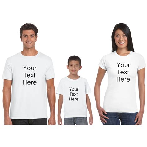 gifts for the family personalized family t shirt for full family