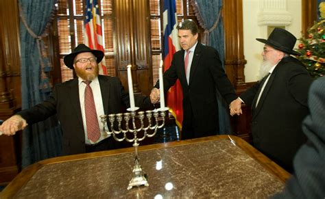 Perry Office by Gov Rick Perry Lights A Menorah For Hanukkah Collective