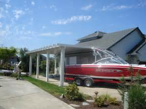 attached carports attached rv carport carport pinterest