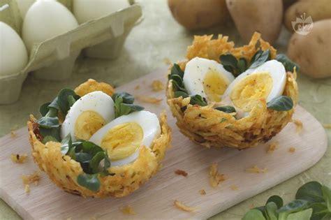 come cucinare l uovo ai bambini i commenti della ricetta nidi di patatine con uova la