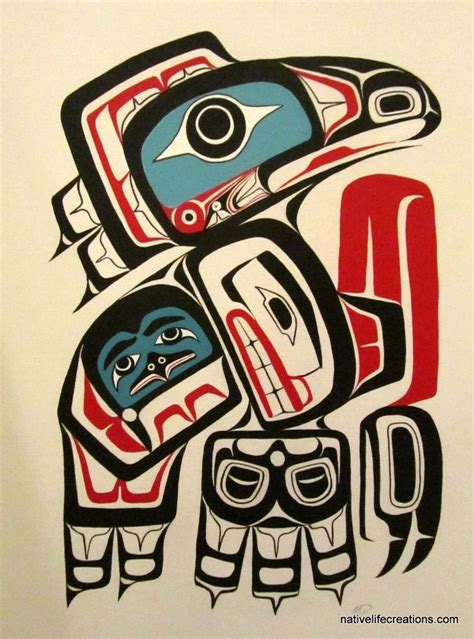 102 best images about haida tattoo s on pinterest