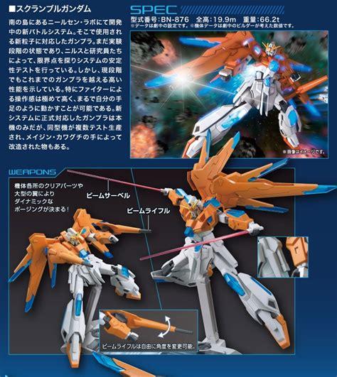 Hgbf 1 144 Scramble Gundam Yajima Engineering gundam mad gundam models 1 144 hgbf scramble gundam