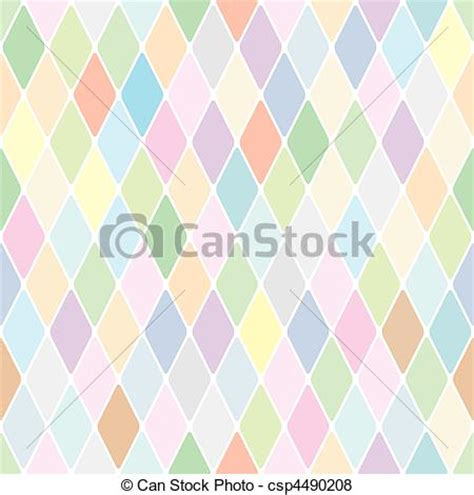 drawing harlequin pattern vector of harlequin pale diamond pattern color bright