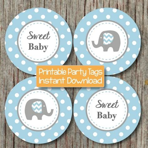 Elephant Baby Shower Decorations by Baby Shower Decorations Elephant Bumpandbeyonddesigns