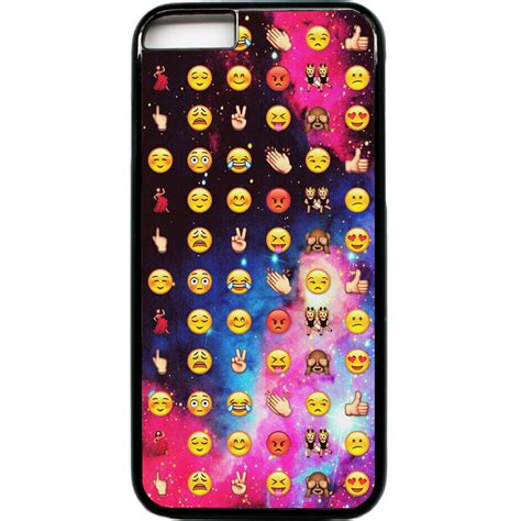 Softcase Smile Iphone 6 Telephone iphone 6 phone emoji faces funky cool smiley space