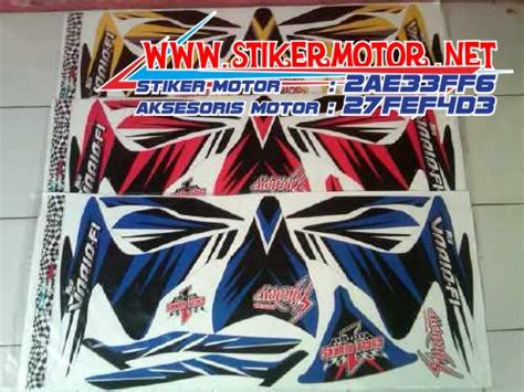 Striping Vario Techno Thailand stiker motor thailand stikermotor net