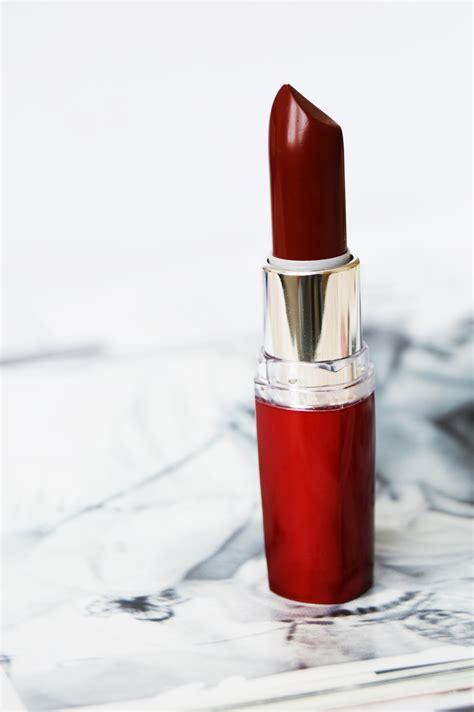 Lipstik Maybelline Color Sensational Moisture Lipstick burgundy with maybelline ela bellaworld
