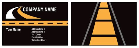 transport business card template haulage business card transport rocket cards