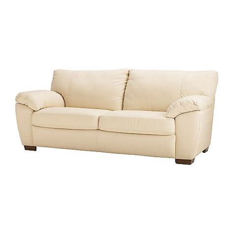 White Leather Sofa Ikea Marvelous Ikea White Leather Sofa 4 Ikea Leather Sofa Bed Smalltowndjs