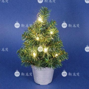 12 inch tree with lights 12 inch potted pine artificial tree with mini