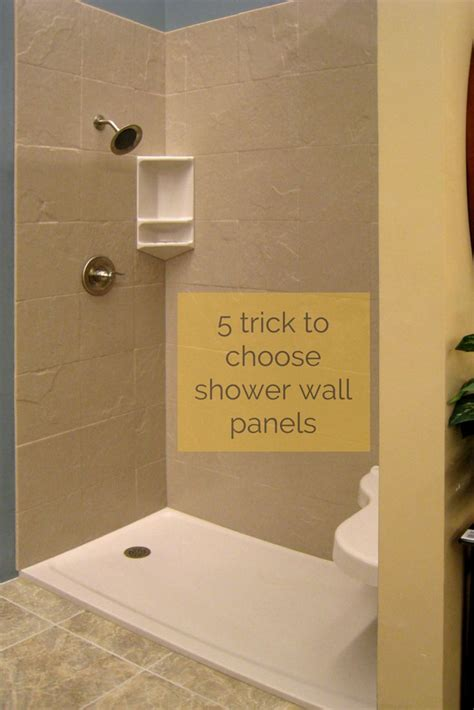 Bathroom Wall Material Ideas Best 25 Shower Wall Panels Ideas On