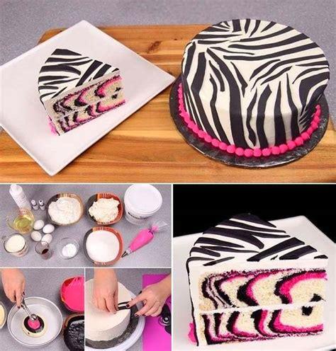 diy cake wonderful diy pretty zebra cake