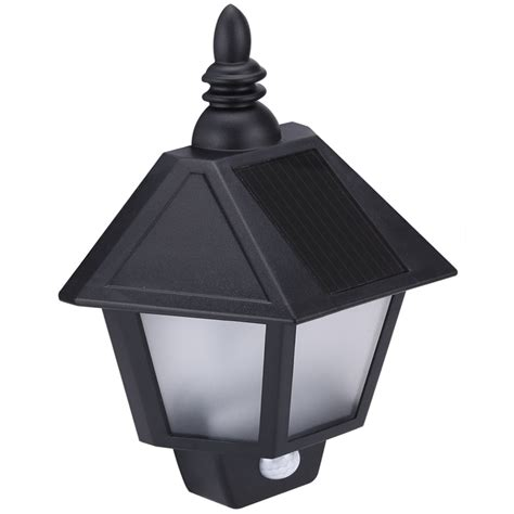 Solar Powered Outdoor Sconces 54lm outdoor led solar lights waterproof 4 leds solar powered led motion sensor wall sconce