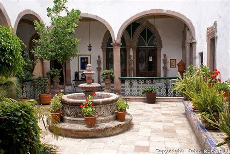 spanish style homes with interior courtyards spanish colonial courtyards interior courtyard of a