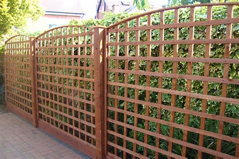 Arched Trellis Panels Products Fencing Manufacturer