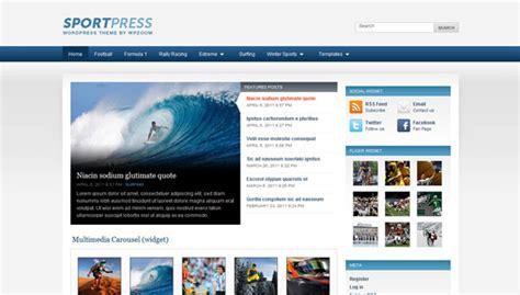 themelock wordpress sportpress wpzoom premium wordpress theme 187 themelock