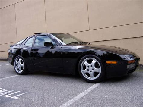 old porsche black black 1986 porsche 944 turbo buy classic volks