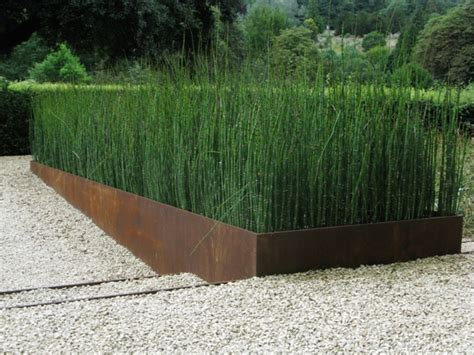 Modern Metal Planters by Steel Planters Ironart Of Bath