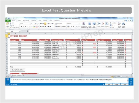 excel format quiz excel test template colomb christopherbathum co