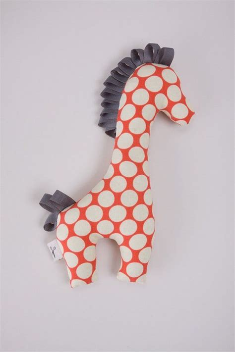 dot pattern system sewing giraffe plush toy small polka dot pattern nicu
