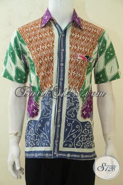 desain baju batik yang keren busana batik keren dengan desain motif klasik berpadu