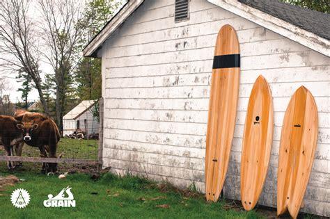grain surfboards opens  build   cedar board