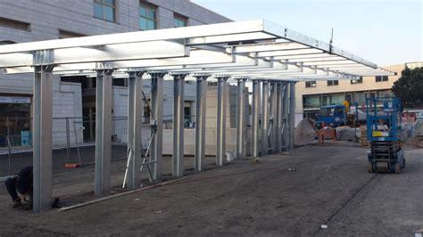 tettoie in metallo tettoie e pensiline in metallo archivi progeco strutture