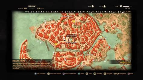 Witcher 3 Bank Location | the witcher 3 vivaldi bank location youtube