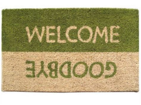 Welcome Goodbye Mat second marketplace mat welcome goodbye