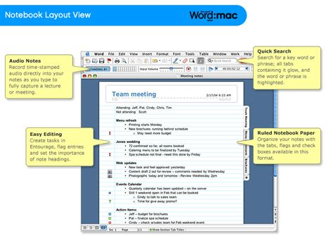 notebook layout view word windows amazon com microsoft office 2004 for mac student and