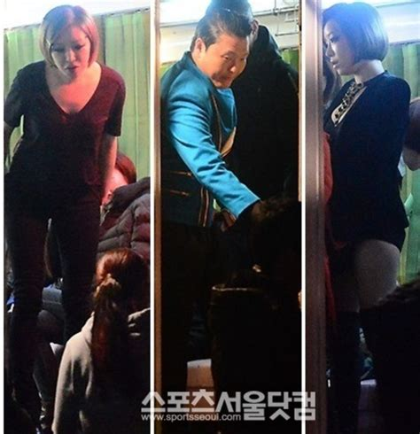 up film music video pictures psy shoots music video for gangnam style