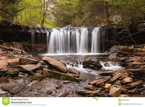 Kitchen Creek by Oneida Falls Ricketts Glen Pennsylvania Stock Photo