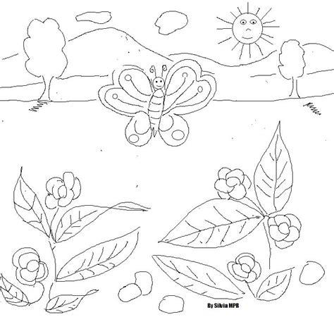 imagenes de paisajes sencillos para dibujar paisaje facil de dibujar imagui