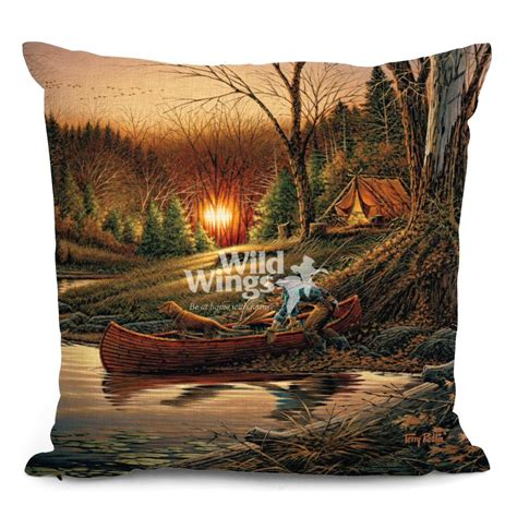 Throw Pillows Set Of 4 18 Quot Morning Solitude Cing Decorative Square Throw