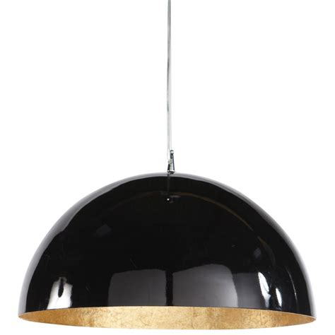 Black And Gold Ceiling Light Ambre Plastic Ceiling Light In Black And Gold D 49cm Maisons Du Monde