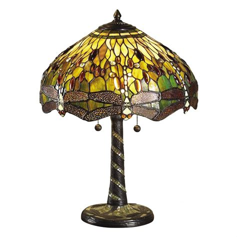green dragonfly tiffany l green dragonfly traditional design large tiffany table l