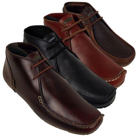 mens designer boots mens nicholas deakins leather smart ankle boots shoe