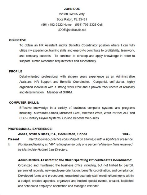 template of a cv free download cv templates 61 free sles exles format download