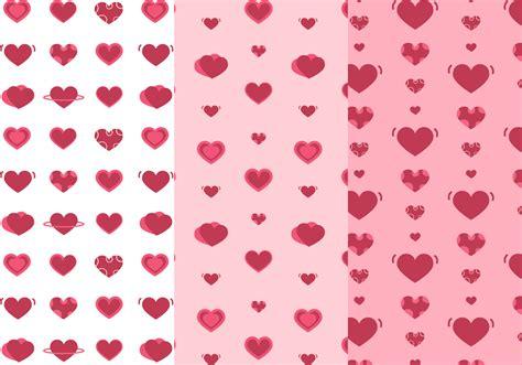 hearts pattern vector   vector art