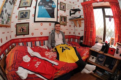 Arsenal Bedroom Wallpaper Modern Arsenal Bedroom Decorations Theme For Boys