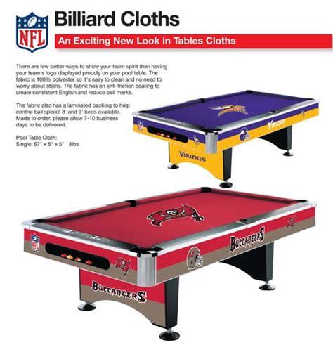 nfl pool table felt pool table cloth standard custom nhl mlb nfl