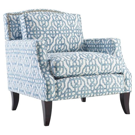 printed armchairs homeware sonoma chair blue accent chairs at hayneedle