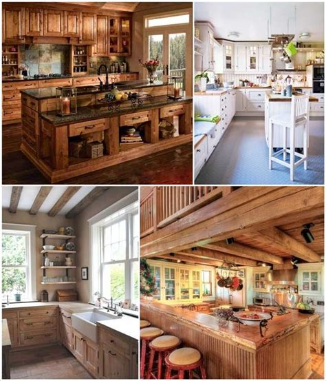 rustic country kitchen designs 35 rustic and country kitchen design ideas